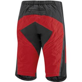 Gonso Moata Primaloft Pantalones Cortos Hombre, negro/rojo